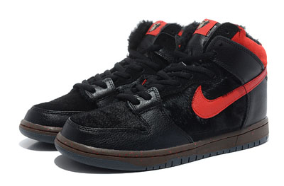 France authentique Nike SB Dunk Pas High Krampus Christmas 2012 Pas Dunk cher 846dec