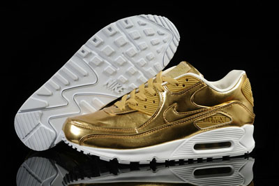 France site officiel Nike Air Max 90 iD Metallic argent or Options Homme Femme Pas cher
